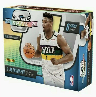 2019-20 Panini Contenders Optic Basketball NBA Hobby Box