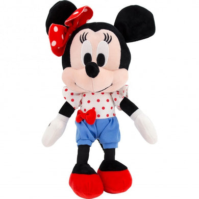Disney I Love Minnie, Minnie Mouse with Blue Shorts Plush Toy