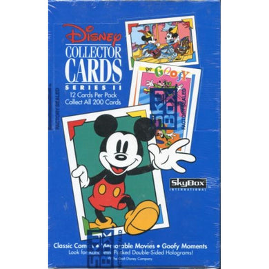 Disney Collector Cards, Series 2, Sealed Box, 1992 Skybox