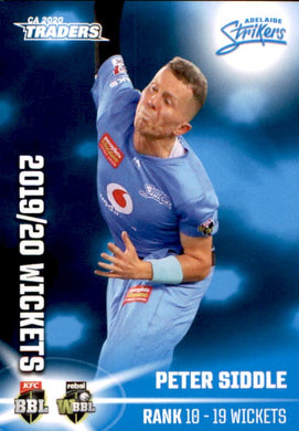 Peter Siddle, Top 10, 2020-21 TLA Cricket Australia and BBL