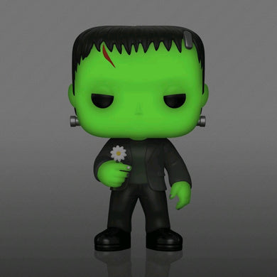 Universal Monsters - Frankenstein with Flower Glow US Exclusive Pop! Vinyl [RS]