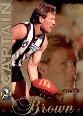 Gavin Brown, Captain Card, 1998 Select AFL