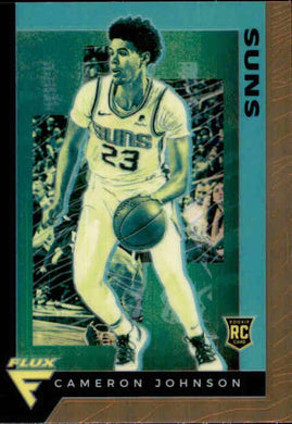 Cameron Johnson, RC, BRONZE Prizm, Flux, 2019-20 Panini Chronicles NBA Basketball