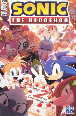 Sonic The Hedgehog (2020) Comic