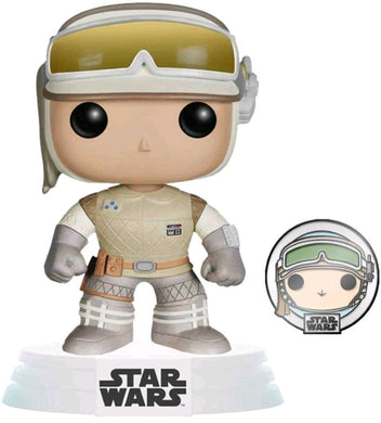 Star Wars: Across the Galaxy - Luke Skywalker Hoth US Exclusive Pop! Vinyl with Pin [RS]