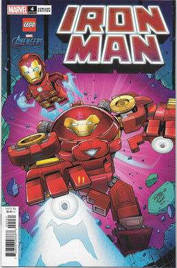 Iron Man #4 LEGO Variant Comic (2020)