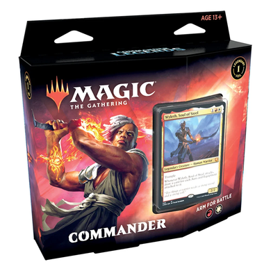 ARM FOR BATTLE - MAGIC: THE GATHERING Commander Legends- Commander Decks