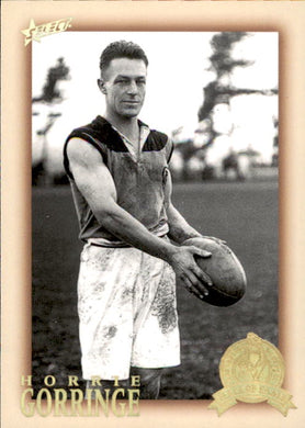 Horrie Gorringe, HFLE216, Hall of Fame Series 4, Red Back, 2012 Select Eternity AFL