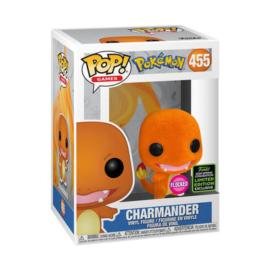 Pokemon - Charmander Flocked ECCC 2020 Exclusive Pop! Vinyl [RS]