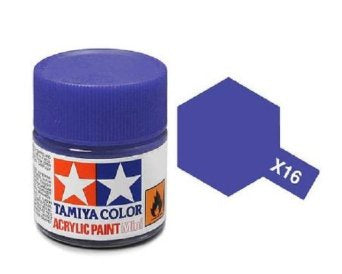 TAMIYA ACRYLIC MINI X-16 PURPLE 10ml