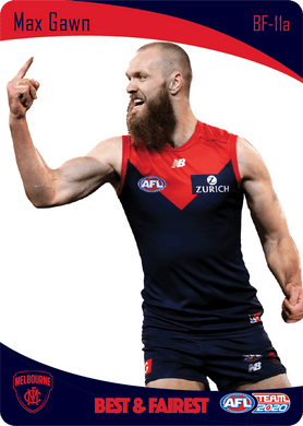 Max Gawn, Best & Fairest, 2020 Teamcoach AFL
