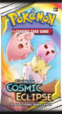 POKEMON TCG Cosmic Eclipse Booster
