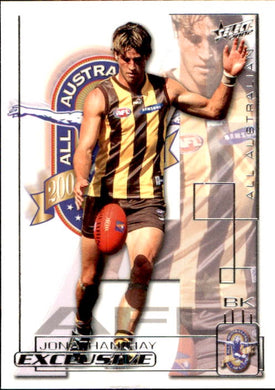 Jonathan Hay, All Australian, 2002 Select AFL Exclusive