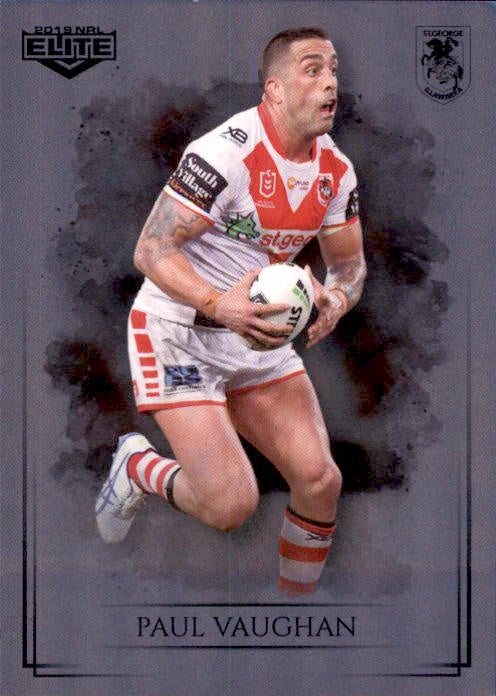 Paul Vaughan, Silver Special Parallel, 2019 TLA Elite NRL