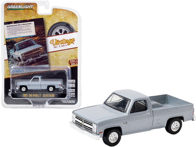 1985 Chevrolet Silverado, Vintage Ad Cars, 1:64 Diecast Vehicle