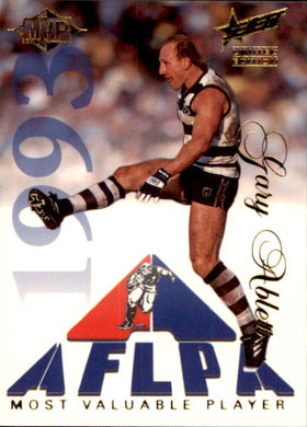 Gary Ablett Snr, MVP, 1995 Select Limited Edition AFL Sensation