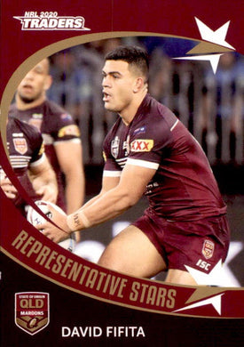 RS29 David Fifita, Representative Stars, 2020 TLA Traders NRL