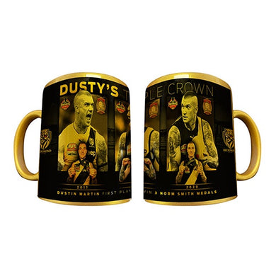 Dustin Martin Gold Triple Crown Mug