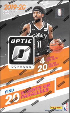 PANINI 2019-20 Panini Donruss Optic Basketball Retail Box