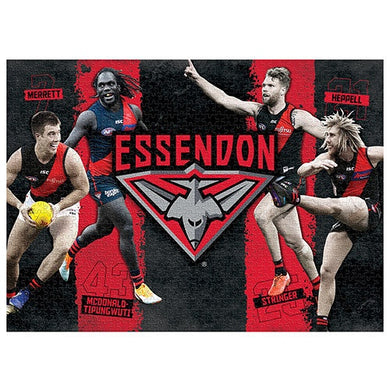 Essendon Bombers, 4 Player, 1000 Piece Jigsaw Puzzle