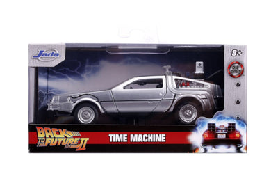 Back to the Future 2 - Delorean 1:32 Scale Diecast, Hollywood Ride
