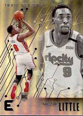 Nassir Little, RC, Essentials, 2019-20 Panini Chronicles NBA Basketball
