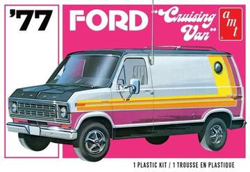 1977 Ford Cruising Van 2T, 1:25 Scale Plastic Model Kit