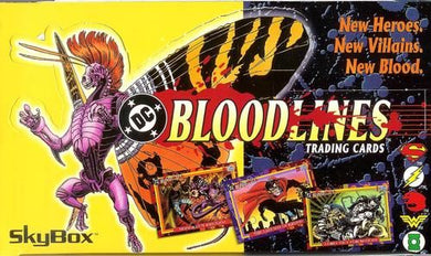 DC Bloodlines, Sealed Box, 1993 Skybox