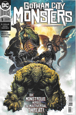 Gotham City Monsters #1 Comic