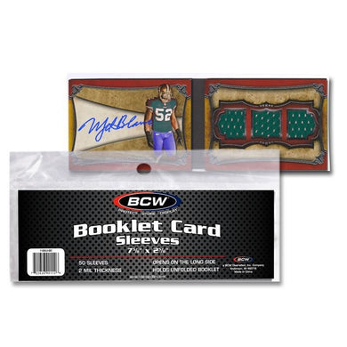 BCW Booklet Card Sleeves (7