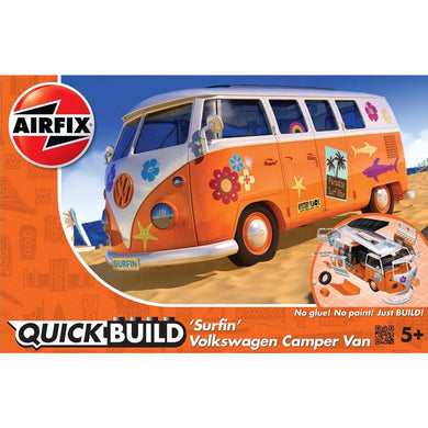 AIRFIX QUICKBUILD VW CAMPER SURFIN'