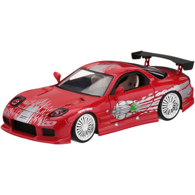 Fast & Furious - Dom's Mazda RX-7, 1:24 Scale Diecast