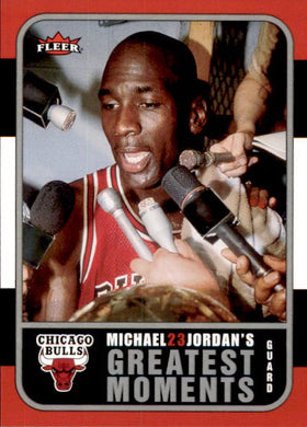 Michael Jordan, Greatest Moments, MJ7, 2006-07 Fleer Basketball NBA