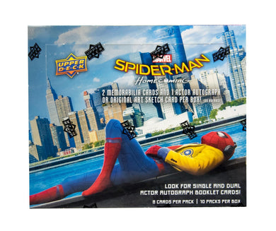 Marvel Spider-man Homecoming Box of cards, Upper Deck