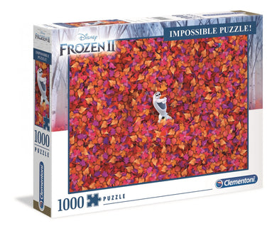 Clementoni Puzzle Disney Frozen 2 Impossible Puzzle 1000 pieces