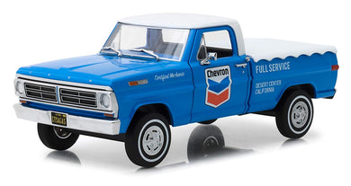 1967 Ford F-100 Truck, Chevron, Running on Empty, 1:24 Diecast Vehicle