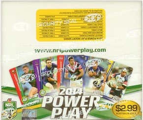 2014 esp NRL Power Play Box of Cards