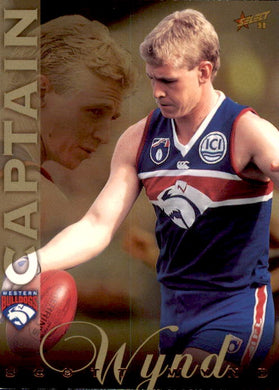 Scott Wynd, Captain Card, 1998 Select AFL