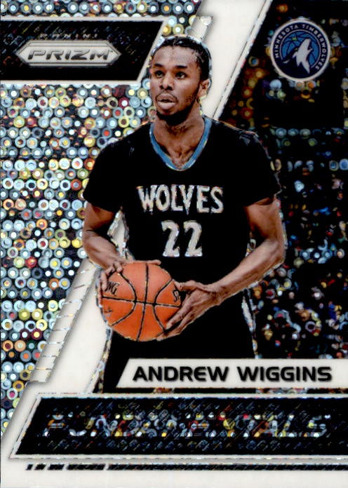 Andrew Wiggins, Fundamentals Fast Break Prizm, 2017-18 Panini Prizm Basketball NBA