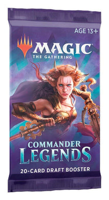 MAGIC: THE GATHERING Commander Legends - Draft Booster Pack