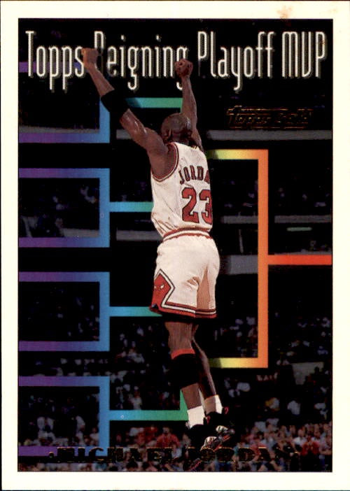 Michael Jordan, Topps Gold, 1993-94 Topps Basketball NBA
