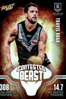 Travis Boak, Contested Beasts, 2020 Select AFL Footy Stars""