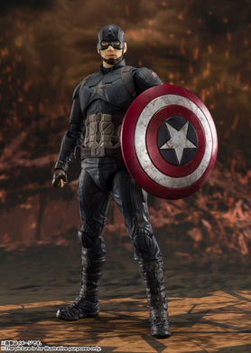 S.H.FIGUARTS Avengers End Game Captain America Final Battle Edition