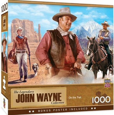 Masterpieces John Wayne On the Trail 1000 piece Jigsaw Puzzle