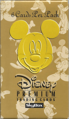 1995 Skybox, Disney Premium Trading Cards Sealed Pack