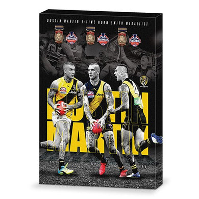Dustin Martin Triple Crown Norm Smith Wall Canvas
