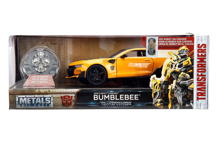 Transformers - Chevy Camero 1:24 Diecast Hollywood Ride