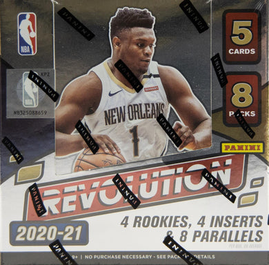 2020-21 Panini Revolution Basketball Hobby NBA Box