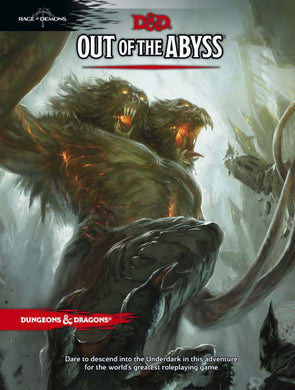 Dungeons & Dragons D&D Adventure Out of the Abyss