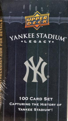 Yankee Stadium Legacy Baseball Set